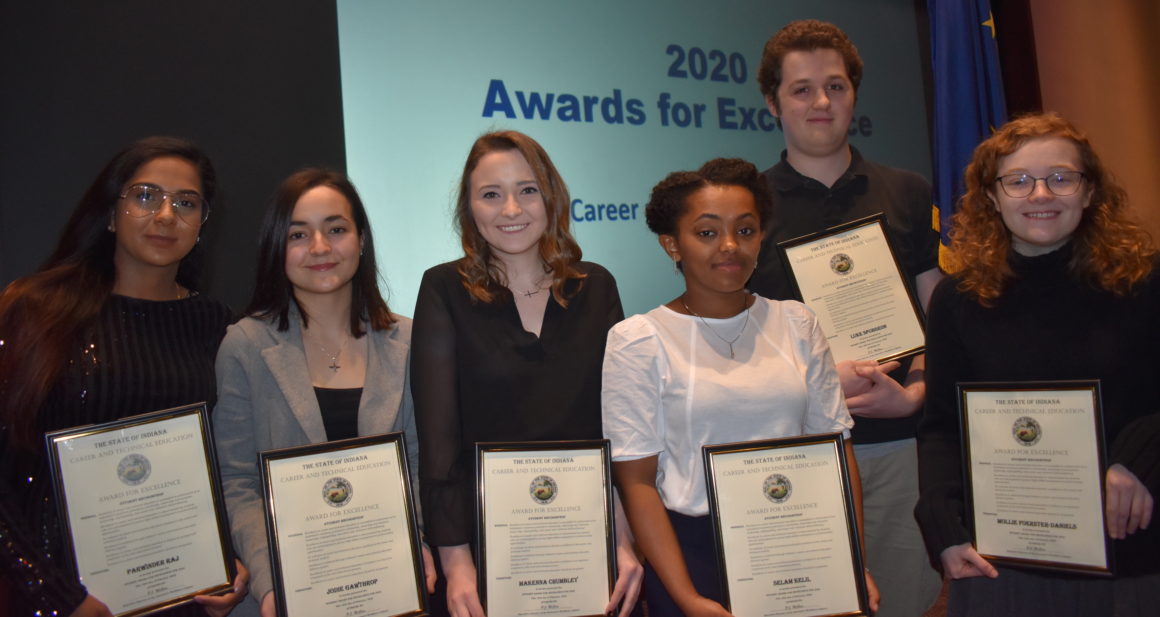 Vincennes University students and programs honored with Awards for Excellence