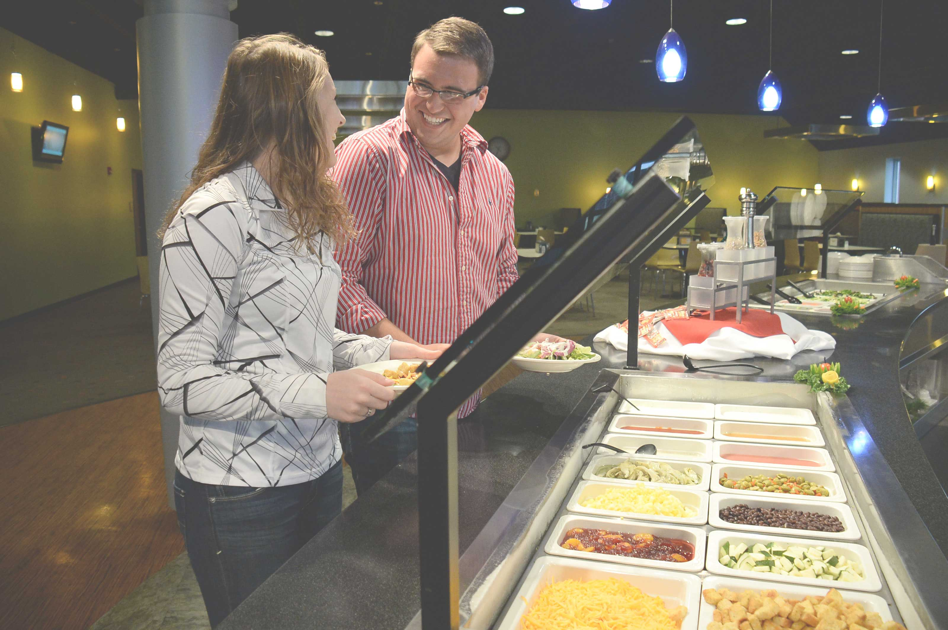 Resources available on the Vincennes campus, including residential life and dining