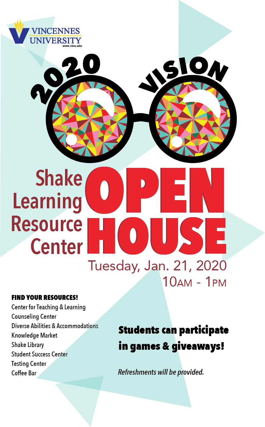 Shake Learning Resource Center Open House