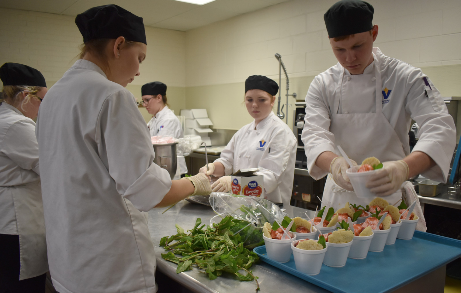 Culinary Arts, Restaurant and Food Services, and Hotel/Motel Management (CG)